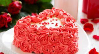 Как приготовить торт в форме сердца