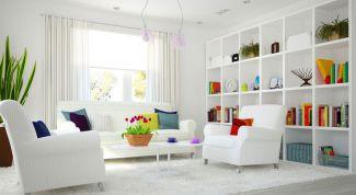 Как использовать белый цвет в интерьере