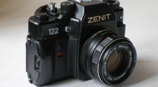 Как фотографировать на Zenit 122