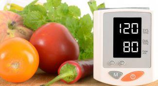 Какие продукты помогут повысить артериальное давление