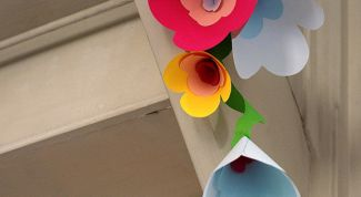 Как сделать объемную поделку из бумаги маме на 8 марта