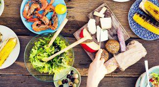 Как правильно сочетать продукты при здоровом питании?