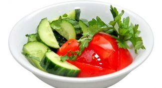 Почему нельзя смешивать огурцы и помидоры