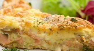 Как приготовить нежную запеканку с картофелем и скумбрией