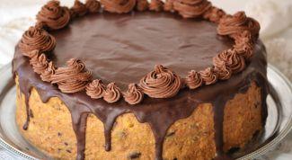 Как сделать торт из бисквитного печенья