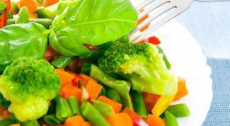 Как приготовить тушеные овощи со сливками