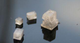 Как самостоятельно вырастить кристалл из соли