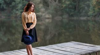 Как выбрать платье с юбкой-колоколом