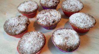 Как сделать вкусные кексы с керобом и изюмом