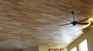 Как укладывать ламинат на потолок