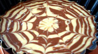 Как приготовить быстрые полосатые кексы