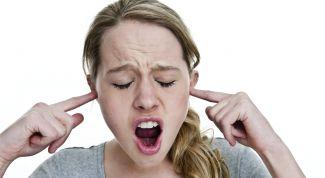 Как избавиться от внезапного звона в ушах