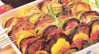 """Как приготовить тушеные овощи """"Мозаика"""""""