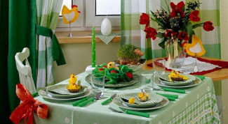 Как оформить стол к пасхальному торжеству