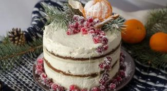 Как приготовить тарт с клюквой и кремом из белого шоколада