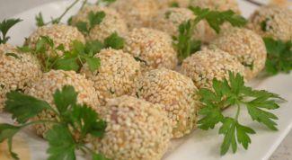 Как приготовить закусочные шарики из печени трески
