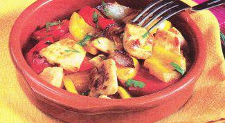 Как оригинально приготовить курицу с перцем