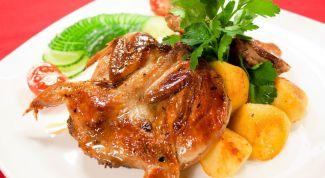 Как приготовить перепелок с овощами в сладком соевом соусе