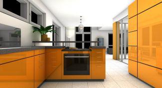 Как обустроить интерьер в оранжевом цвете