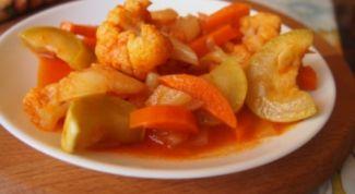 Лучший рецепт овощного рагу в мультиварке