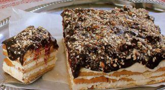 Как приготовить творожный торт из печенья без выпечки