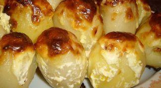 Как просто приготовить картофель, фаршированный печёнкой