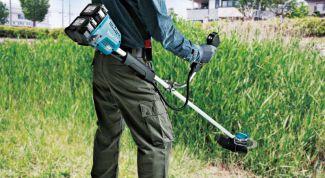 Какие преимущества у аккумуляторного садового инструмента