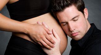 Как мужчина должен себя вести с беременной женой