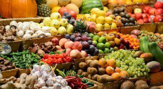 Как правильно выбирать фрукты на рынке