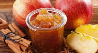 Как приготовить яблочное повидло с корицей