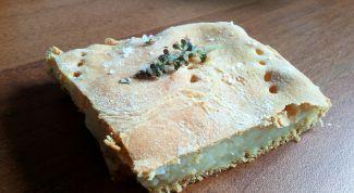 Как сделать вкусный и простой картофельный пирог