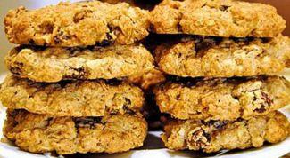 Как испечь овсяное печенье с орехами