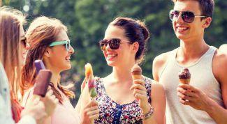 Популярное мороженое в разных странах