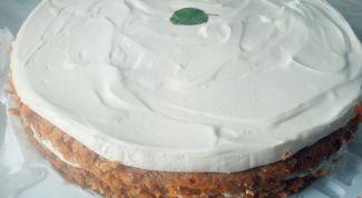 Как сделать нежный морковный торт