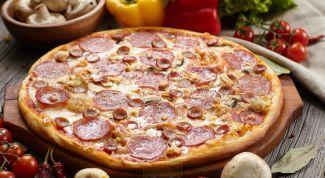 Как сделать идеальную пиццу за 5 минут