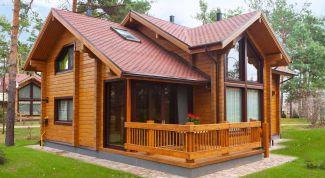 Как самостоятельно построить дом из бруса