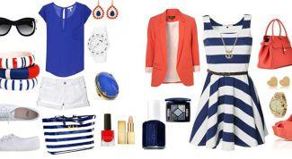 Как подобрать гардероб в морском стиле