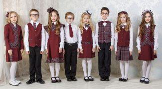 Как выбрать школьную форму для ребенка