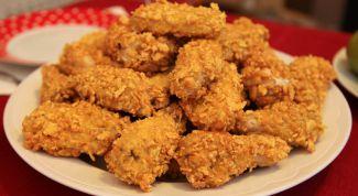Как приготовить крылышки KFC