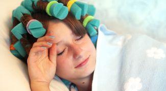 Как спать на бигуди с удовольствием: 8 шагов к созданию роскошных локонов
