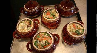 Какие блюда можно приготовить в керамических горшочках