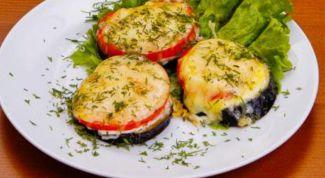 Как приготовить баклажаны с помидорами и сыром в духовке