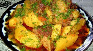 Как приготовить кавардак по-узбекски
