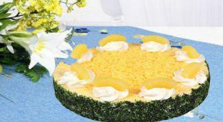 Готовим грибной салат с ананасами и курицей