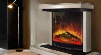 Как сделать электрический камин с эффектом живого пламени