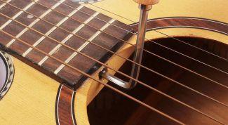 Как настроить анкер на гитаре