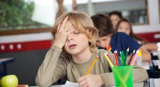 Какие симптомы хронической усталости у школьников