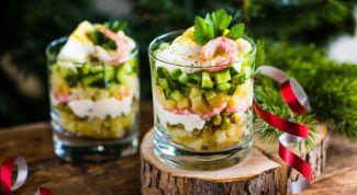 Как приготовить низкокалорийный салат оливье