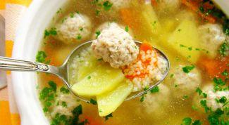Как просто приготовить суп на мясном бульоне
