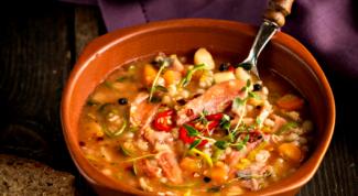 Как приготовить суп из говядины и перловки